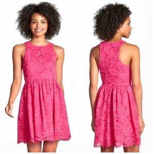 Trina Turk Jaylen Pink Lace Dress - 4
